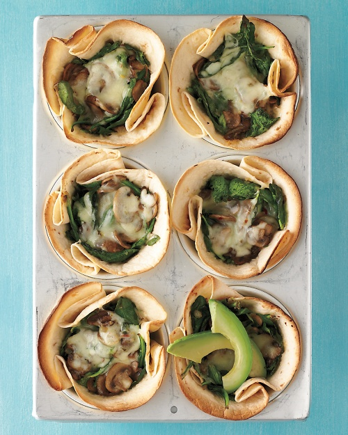 tortilla Spinach & Muschrooms